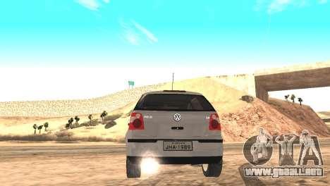 Volkswagen Polo 2.0 2005 para GTA San Andreas left