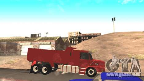 Scania 112HW para GTA San Andreas left