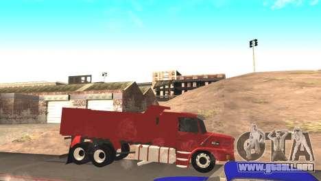 Scania 112HW para GTA San Andreas left