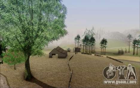 Nueva vegetación 2013 para GTA San Andreas tercera pantalla