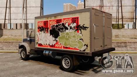 Nuevo graffiti a Yankee para GTA 4 vista hacia atrás