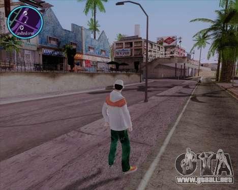Maccer HD para GTA San Andreas tercera pantalla