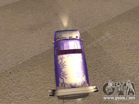 Vaz 2102 divertido flotar para la visión correcta GTA San Andreas