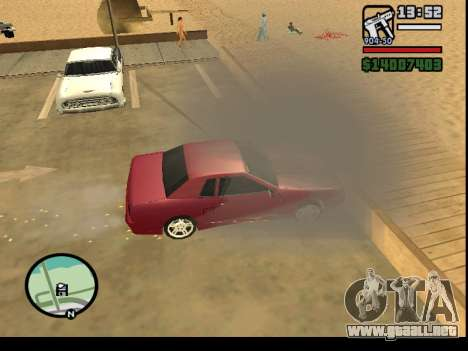 GTA V to SA: Burnout RRMS Edition para GTA San Andreas sexta pantalla
