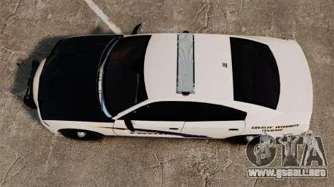 Dodge Charger 2013 AST [ELS] para GTA 4 visión correcta