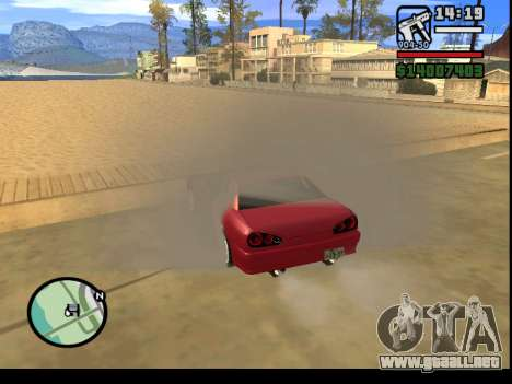 GTA V to SA: Burnout RRMS Edition para GTA San Andreas novena de pantalla