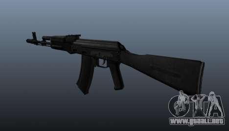 AK-74 m para GTA 4 segundos de pantalla