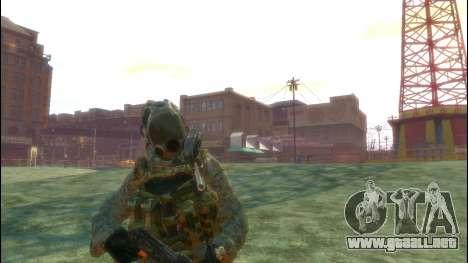 Un soldado ruso v3.0 para GTA 4 tercera pantalla