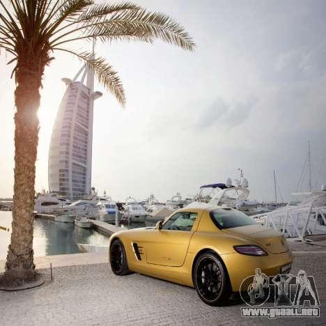 Pantallas de carga Mercedes-Benz para GTA 4 adelante de pantalla
