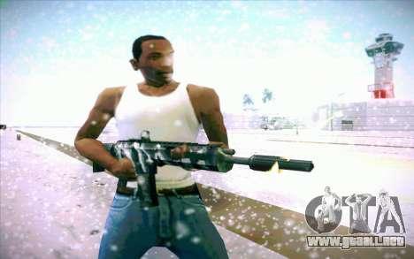 ACR para GTA San Andreas sucesivamente de pantalla