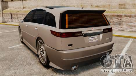 Dinka Honda Odyssey JDM Version para GTA 4 Vista posterior izquierda