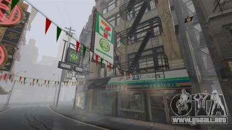 Tiendas de Chinatown para GTA 4 adelante de pantalla