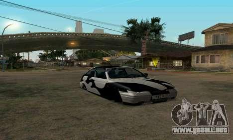 LADA 112 para GTA San Andreas vista hacia atrás