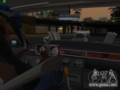Gas arrastre edición 24 para vista lateral GTA San Andreas