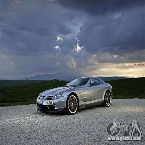 Pantallas de carga Mercedes-Benz para GTA 4 sexto de pantalla