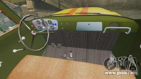 Emergencia Gaz-52 para GTA 4 vista interior