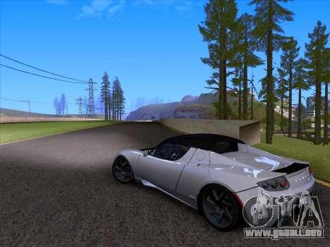 Tesla Roadster Sport 2011 para la vista superior GTA San Andreas