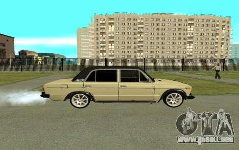 VAZ 2106 para GTA San Andreas left