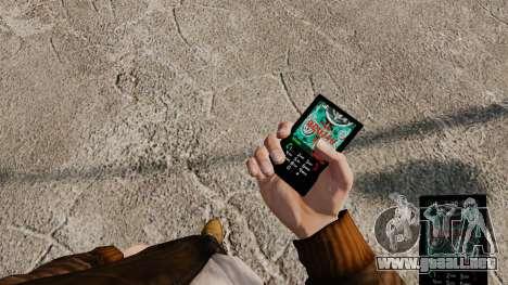 Temas para teléfono Vampire The Masquerade para GTA 4 tercera pantalla