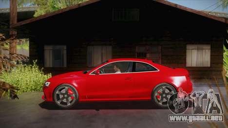 Audi RS5 2012 para GTA San Andreas left