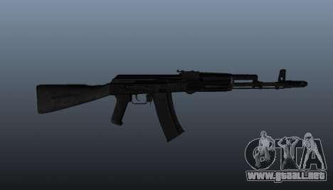 AK-74 m para GTA 4 tercera pantalla