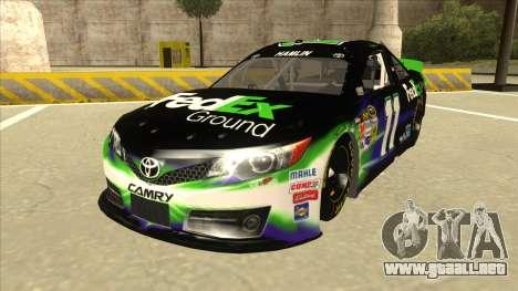 Toyota Camry NASCAR No. 11 FedEx Ground para GTA San Andreas