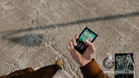 Temas para teléfono Vampire The Masquerade para GTA 4 undécima de pantalla