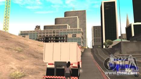 Scania 112HW para GTA San Andreas vista posterior izquierda