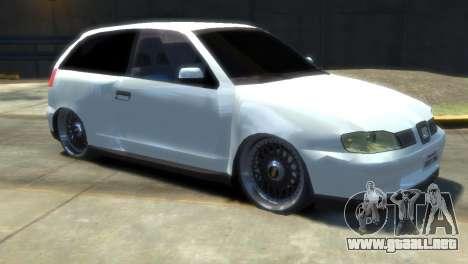 Seat Ibiza para GTA 4 visión correcta