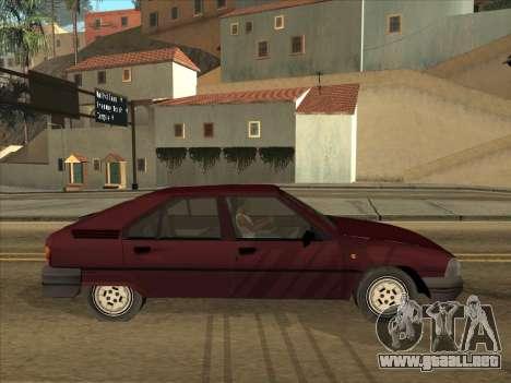 Citroën BX para la visión correcta GTA San Andreas