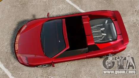 El nuevo Turismo para GTA 4 Vista posterior izquierda