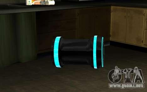 Blaster para GTA San Andreas tercera pantalla