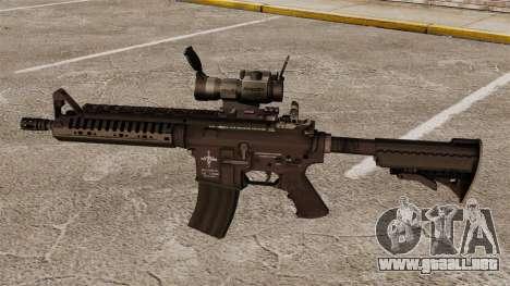 Automático carabina M4 VLTOR v2 para GTA 4 tercera pantalla