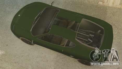 Turismo con EPM para GTA 4 Vista posterior izquierda