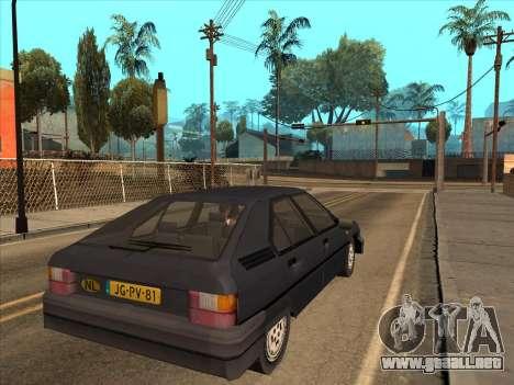 Citroën BX para GTA San Andreas left