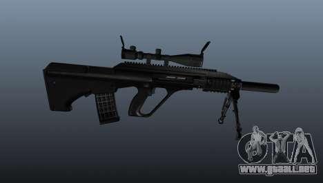 Fusil automático Steyr AUG3 para GTA 4 tercera pantalla