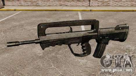 Rifle de asalto FAMAS para GTA 4 tercera pantalla