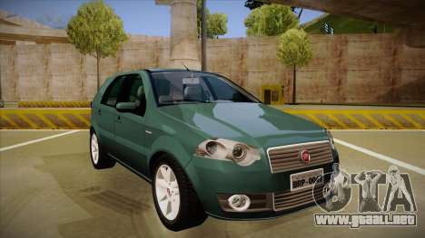 FIAT Palio ELX 2010 para GTA San Andreas left