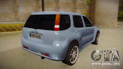 Suzuki Ignis para la visión correcta GTA San Andreas