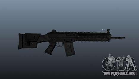 Fusil SIG SG 751 v2 para GTA 4 tercera pantalla