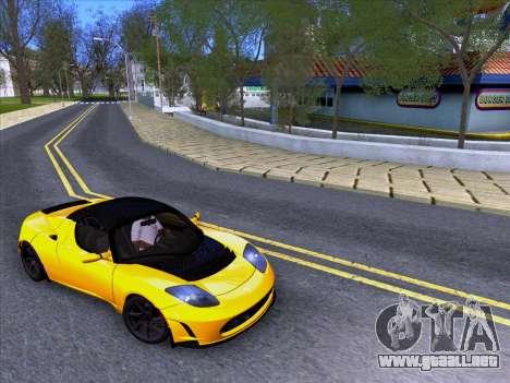 Tesla Roadster Sport 2011 para la visión correcta GTA San Andreas