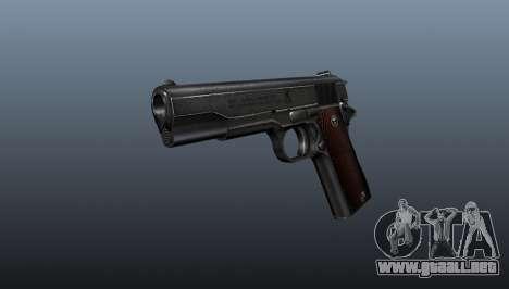 Pistola M1911 v4 para GTA 4