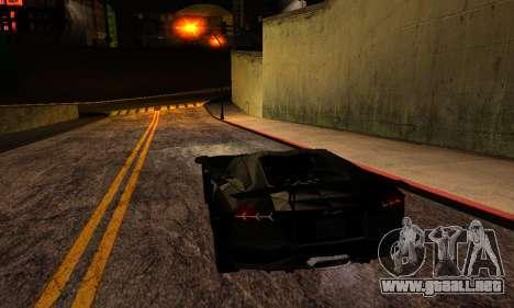 ENBSeries By Avatar para GTA San Andreas octavo de pantalla