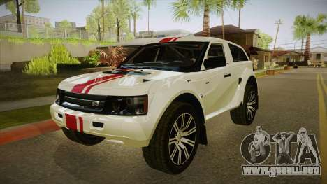 Bombín EXR S 2012 FIV & APT para GTA San Andreas left