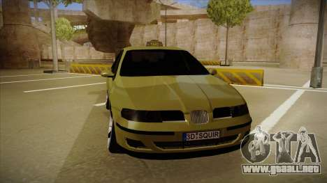 Seat Toledo German Style para GTA San Andreas left