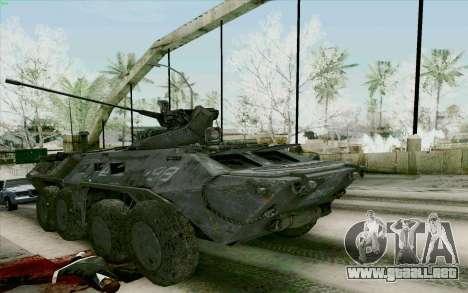 BTR-80 para GTA San Andreas left