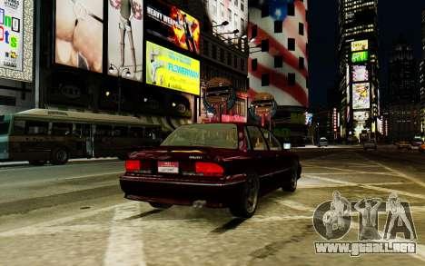 Mitsubishi Galant V2 para GTA 4 visión correcta