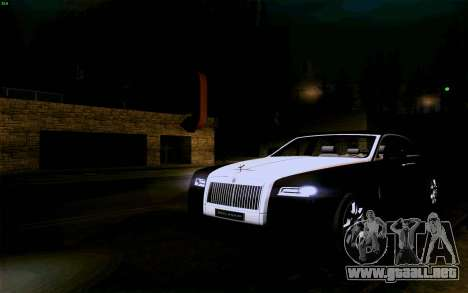 Rolls-Royce Ghost para vista lateral GTA San Andreas