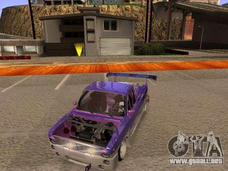 Vaz 2102 divertido flotar para visión interna GTA San Andreas