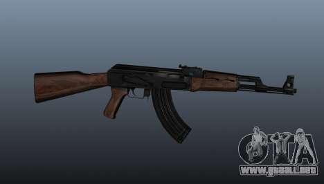 AK-47 v3 para GTA 4 tercera pantalla